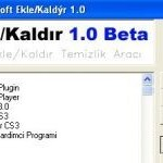Alternatif Program Ekle Kaldır