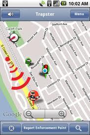 Trapster Android Radar Tespit Uygulaması