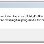d3dx9_43.dll Dosyası İndir