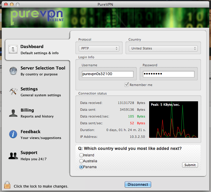 PureVPN Mac Os X Uygulaması İndir - Mac için VPN Programı