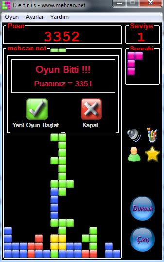 tetris oyunu ücretsiz indir