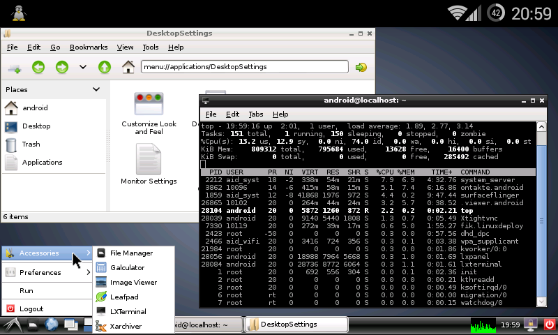 linux-deploy-android-indir