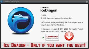 Ücretsiz Comodo İce Dragon İnternet Tarayıcı