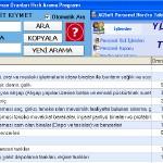 Ücretsiz AGSoft VUK Amortisman Oranları Hızlı Arama Programı