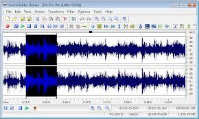 audio editor deluxe www.ucretsizprogram.org