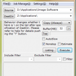Ücretsiz FastCopy Hızlı Kopyalama Programı