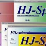 Ücretsiz HJSplit Dosya Bölme ve Birleştirme Programı