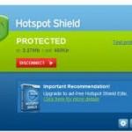 Ücretsiz Hotspot Shield Proxy ve Güvenlik Programı