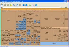 SpaceSniffer Dosya Boyutu Gösterme Programı