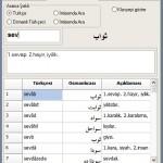 Ücretsiz Arapça-Osmanlıca-Farsca-Türkçe Sözlük Programı