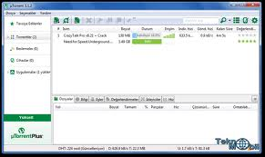 µTorrent Torrent Dosya İndirici Program