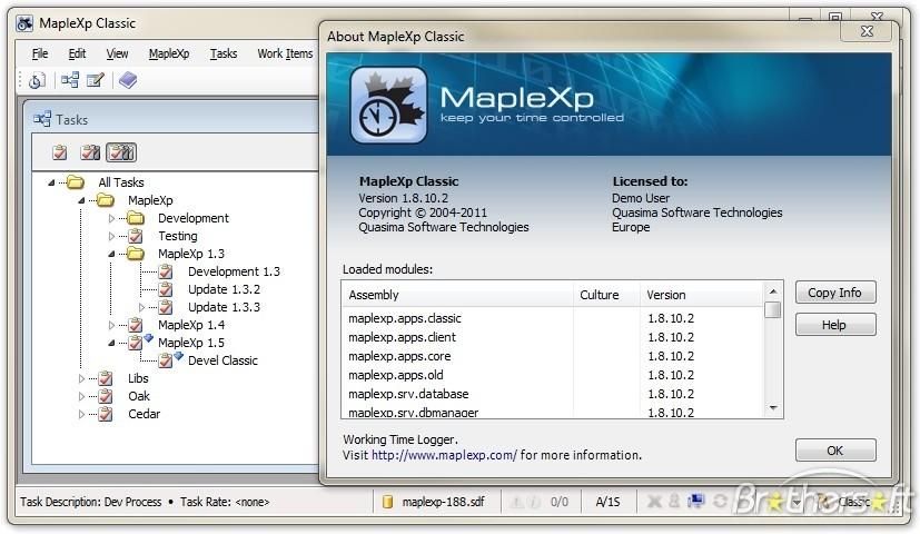 MapleXP Bilgisayarı Kullanma Zamanını Hesaplama Programı