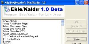 Alternatif Program Ekle-Kaldır