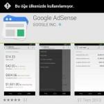 Google AdSense Mobil Gelir İzleme Uygulaması
