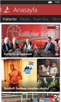 LigTv Windows Phone Uygulaması