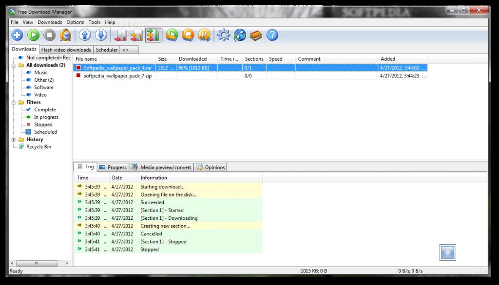 FDM Free Download Manager İndirme Programı