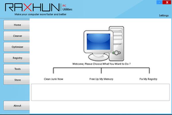 RaxHun Bilgisayar Hızlandırma Programı