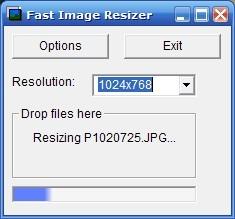 Fast Image Resizer Resim Boyutlandırma Programı