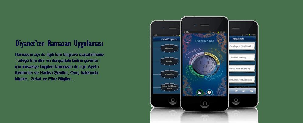 Diyanet İşleri Başkanlığı Ramazan Uygulaması