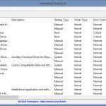 InstalledDriversList Yüklü Sürücüleri Görüntüleme Programı İndir