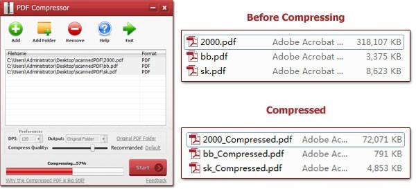 PDF Dosyalarını sıkıştırma ve Ücretsiz Pdf Dosya Boyutunu Küçültme Programı