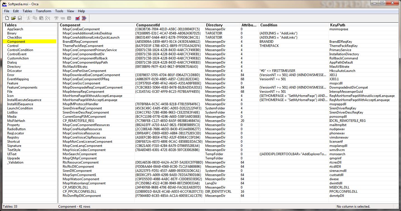 Orca ile Kolay ve Hızlı MSI Dosyaları oluşturun veya Varolan Dosyalarınızın İçeriğini Düzenleyin.