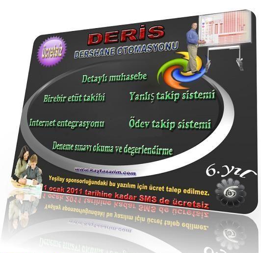Deris Dershane Otomasyon ve Rehberlik Programı