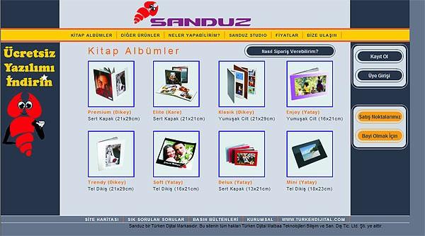 Sanduz Studio İndir -  Albüm Takvim Poster Vb. Tasarım Programı
