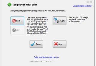 USB Bellek Bilgisayar Kilidi Programı
