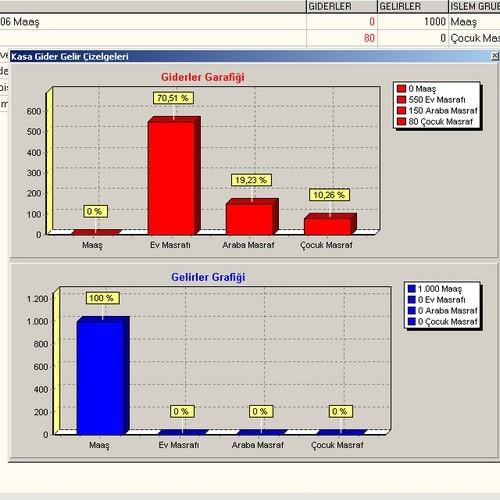MyCase Kişisel Gelir Gider Takip Programı