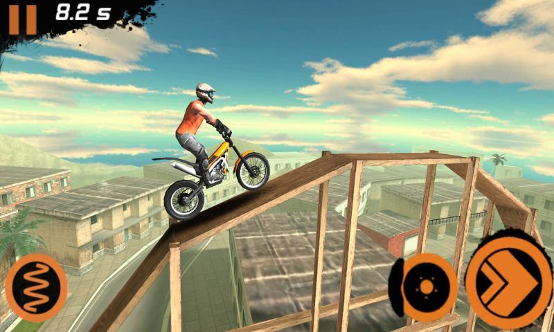 Trial Xtreme 4 Android için Eğlenceli Motorsiklet Yarış Oyunu