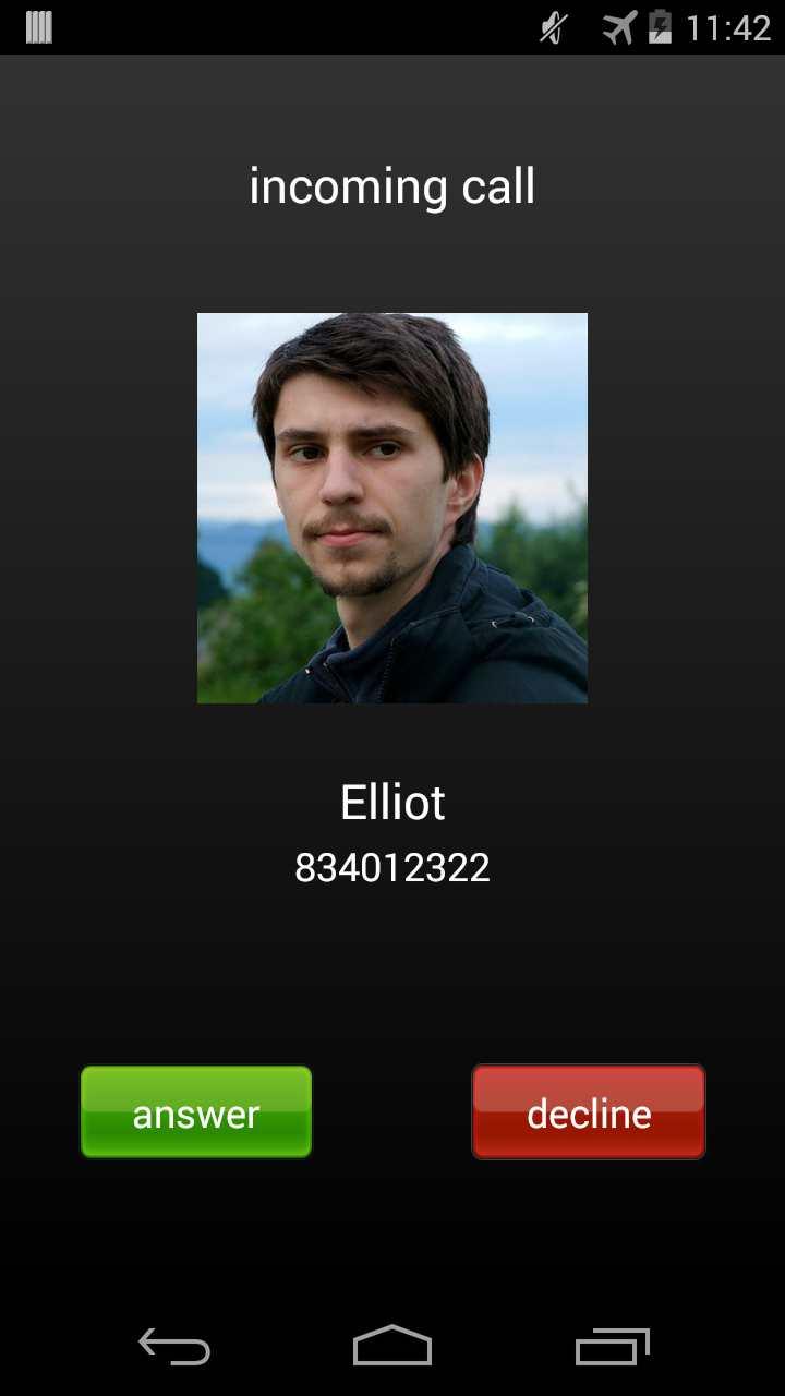 Sahte arama - Fake Call Android Uygulaması