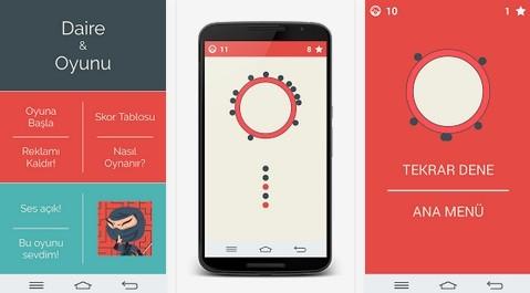 En Güzel Android Daire Oyunu Uygulaması