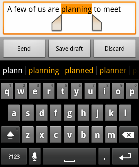 Android Ginger Keyboard indir