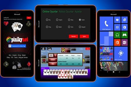 pinikynet 101 okey oyna windowsphone