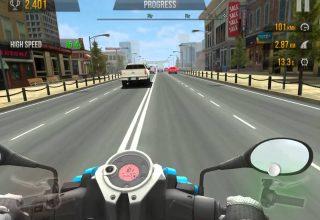 Traffic Rider Iphone Motorsiklet Oyunu