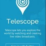 Telescope Windows Phone Uygulaması