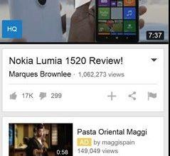Ücretsiz Video indirme Windowsphone Uygulaması