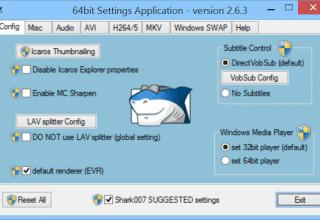 Windows 8 için Codec Paketi Ücretsiz