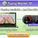 Bedava TypingMaster 10 Parmak Klavye Programı indir