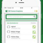 GBT – Numara Sorgulama Iphone