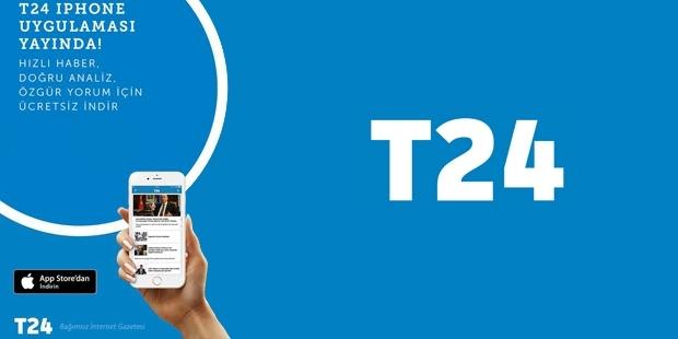 T24 Iphone uygulaması