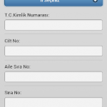 Seçmen Sorgulama Android