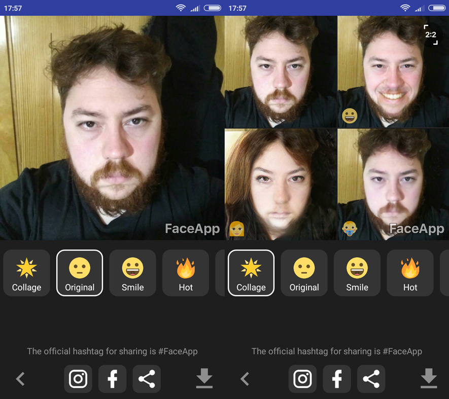 FaceApp Android indir