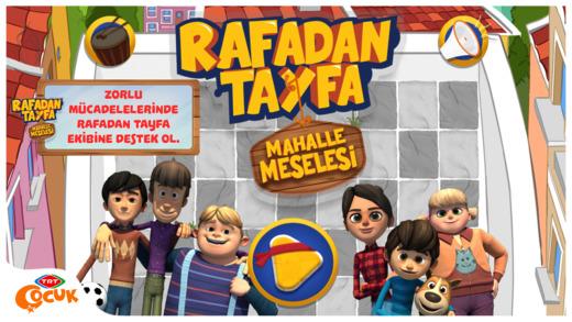 TRT Rafadan Tayfa Mahalle Meselesi