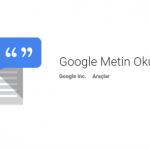 Google Metin Okuma Apk