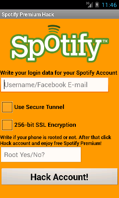 Spotify Hack Apk