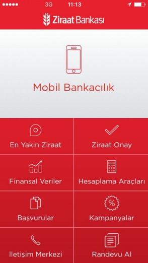 Ziraat Mobil Android indir