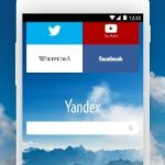Yandex Browser Beta apk indir