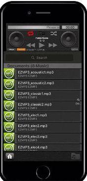 EZMP3 Player Iphone